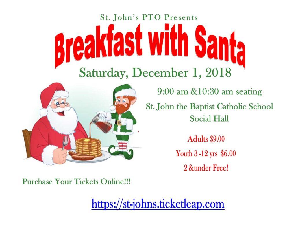 PTO Breakfast with Santa @ Sylvan Capitani Social Hall | New Freedom | Pennsylvania | United States